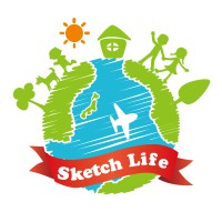 Sketch life logo