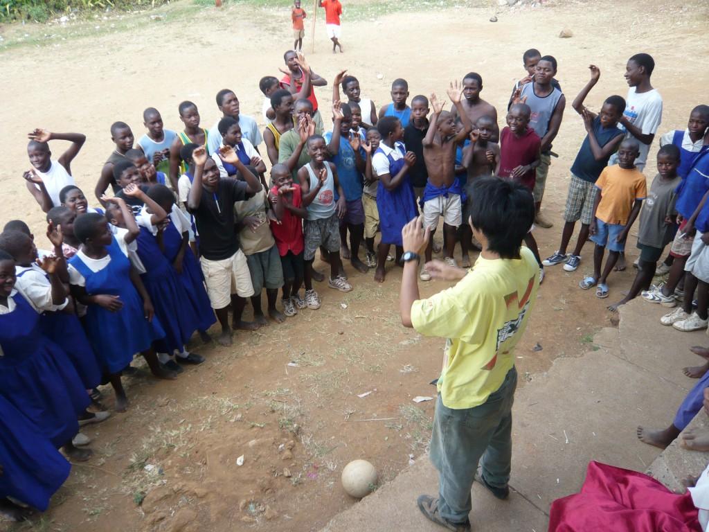 青年海外協力隊 活動風景