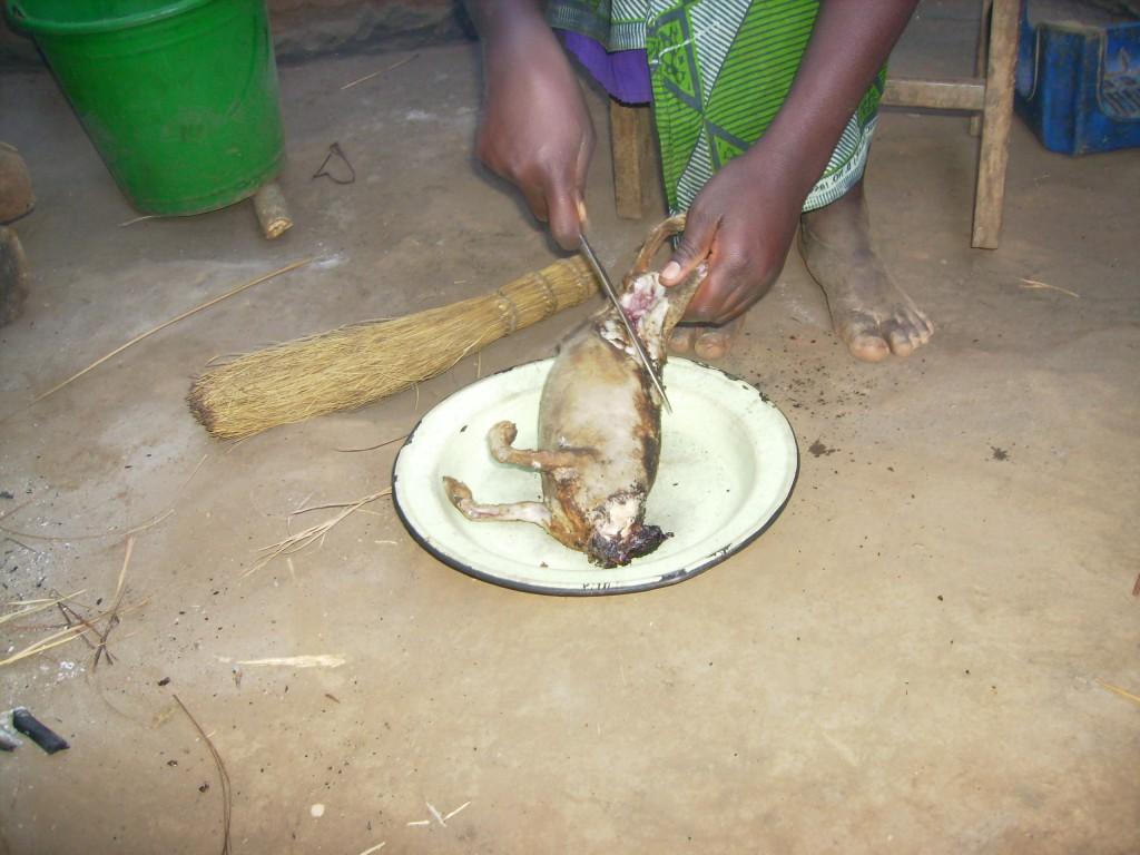 アフリカの料理方法