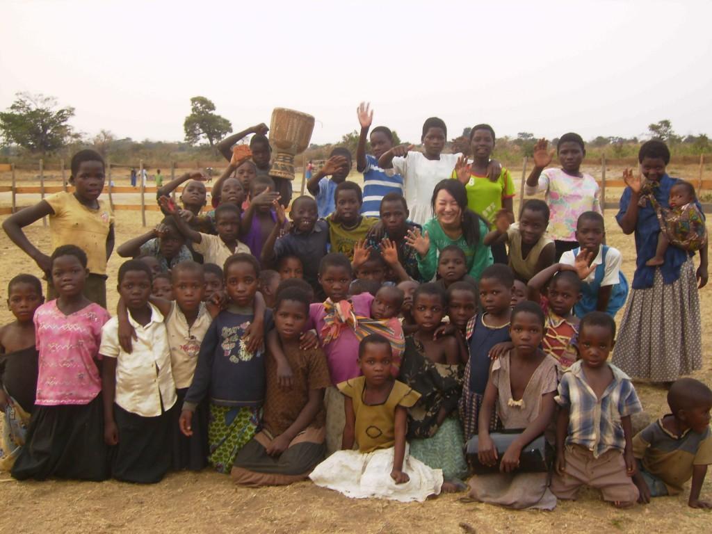 アフリカで知り合ったたくさんの友人