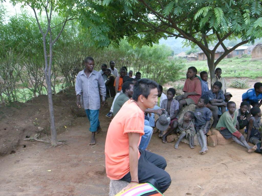 青年海外協力隊活動風景