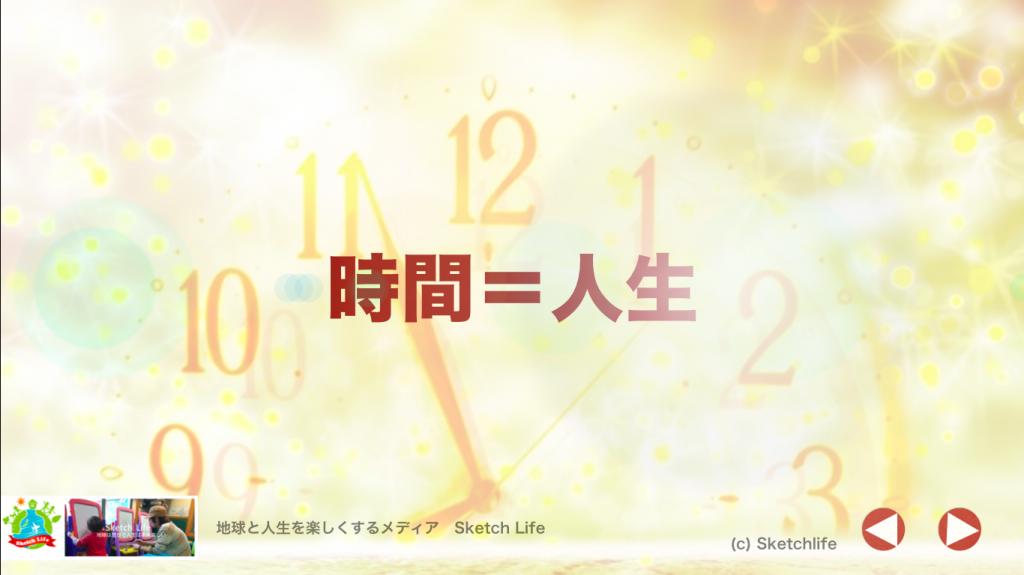 時間=人生