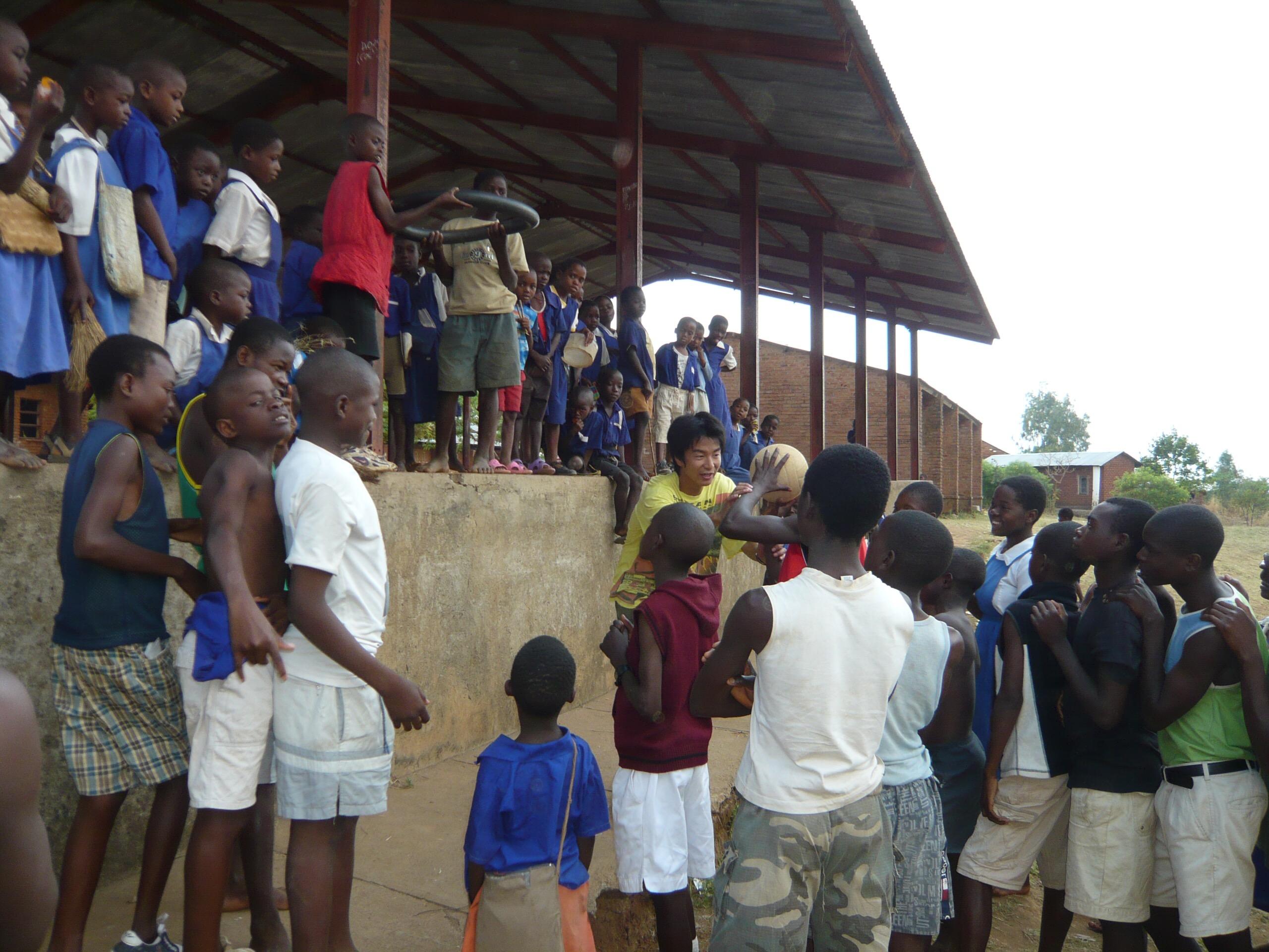 アフリカ活動風景